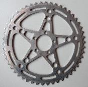 ALUMINIUM ADAPTER STRONGLIGHT CHAINRING 50- Plateau alu BCD 122