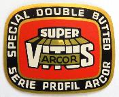 SUPER VITUS ARCOR TUB QUALITY STICKER - Autocollant serie de tubes