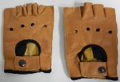 GENUINE LEATHER GLOVE - Gants cuir véritable