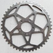 STEEL ADAPTER CHAINRING 46- Plateau acier